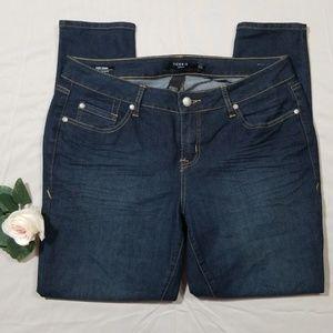 Torrid Curvy Skinny Jeans Size 12 Short